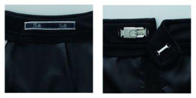 画像2: 【フォーク】スカート(ブラック) FS45855-9