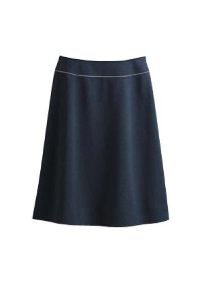 画像1: 【セロリー】スカート(ネイビー) S-16461 (1)