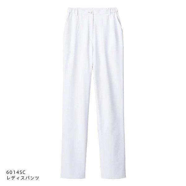 画像1: 【ZiP】レディスパンツ(ホワイト) 6014SC-1 (1)